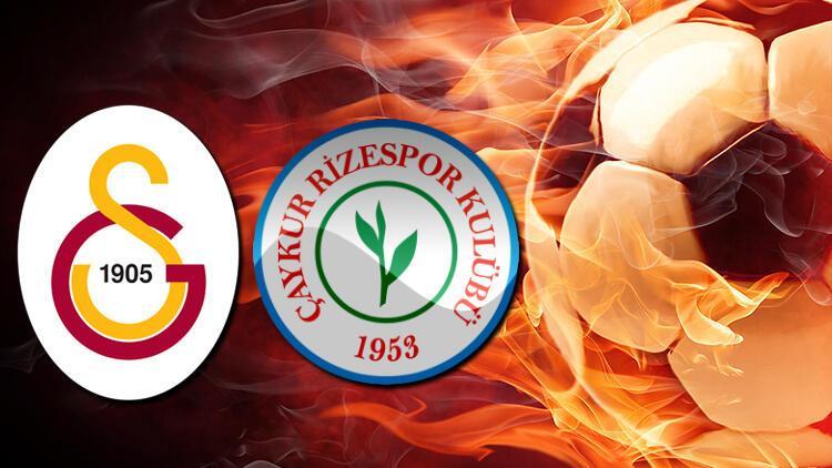 Galatasaray Çaykur Rizespor maçı ne zaman?