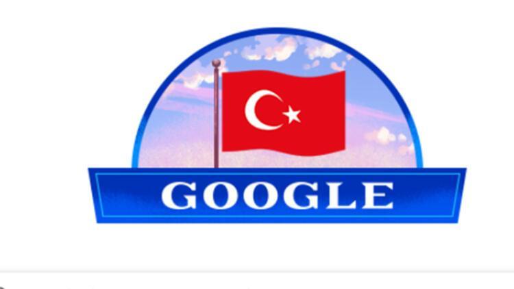 Google'dan 29 Ekim Cumhuriyet Bayramı'nın 96. yılına özel doodle