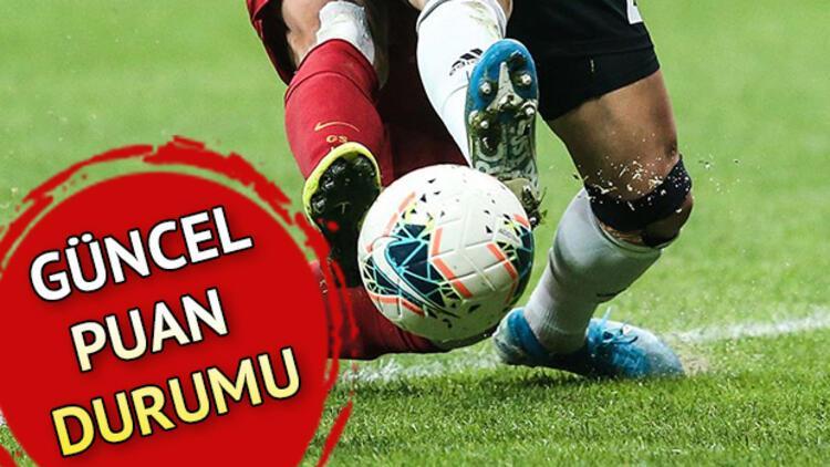 Süper Lig'de 9. haftasında son puan durumu!  Süper Lig puan durumu nasıl şekillendi?
