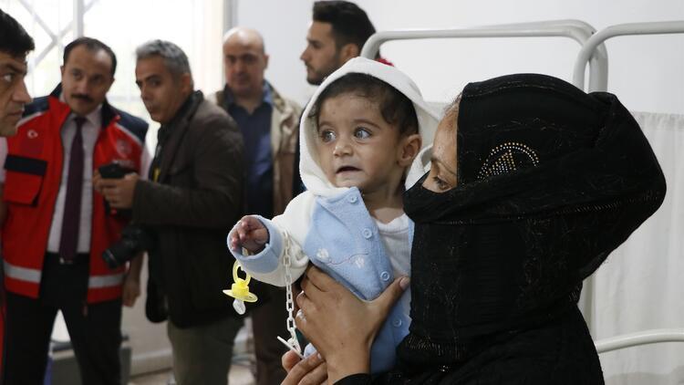 Türkiye'nin onardığı Tel Abyad Hastanesi şifa dağıtmaya başladı