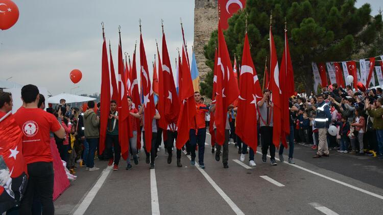 Sinop'ta Cumhuriyet Bayramı kutlamalarına büyük ilgi