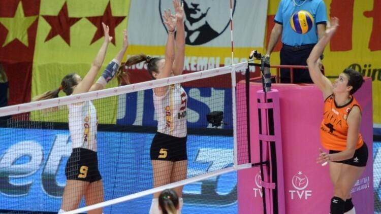 Galatasaray HDI Sigorta: 1 - Eczacıbaşı VitrA: 3