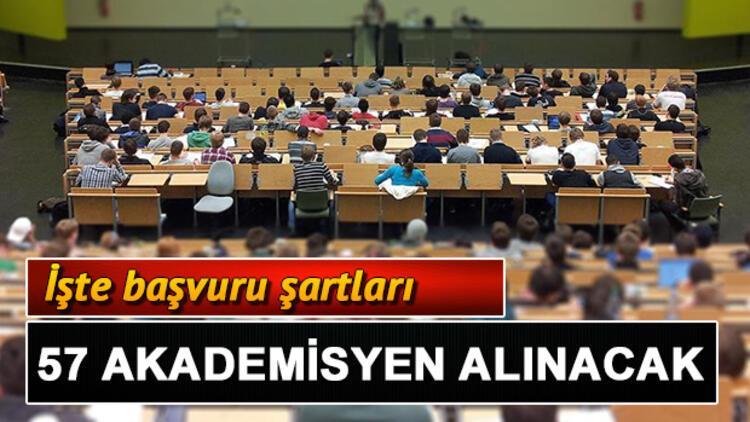 Trakya Üniversitesi 57 öğretim üyesi alacak! Başvuru şartları neler?