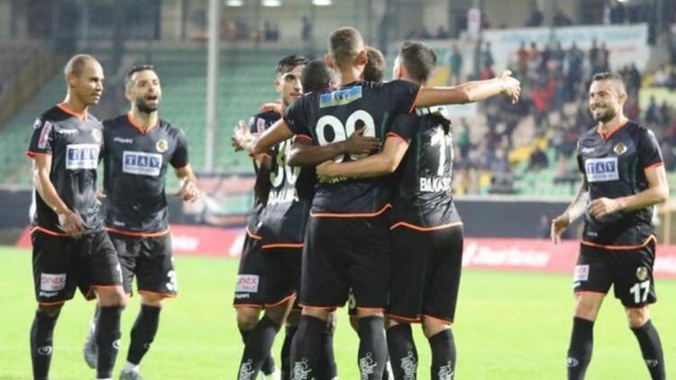 Aytemiz Alanyaspor 3 golle turladı