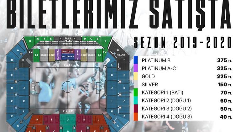 Trabzonspor'da Göztepe maçı biletleri satışta