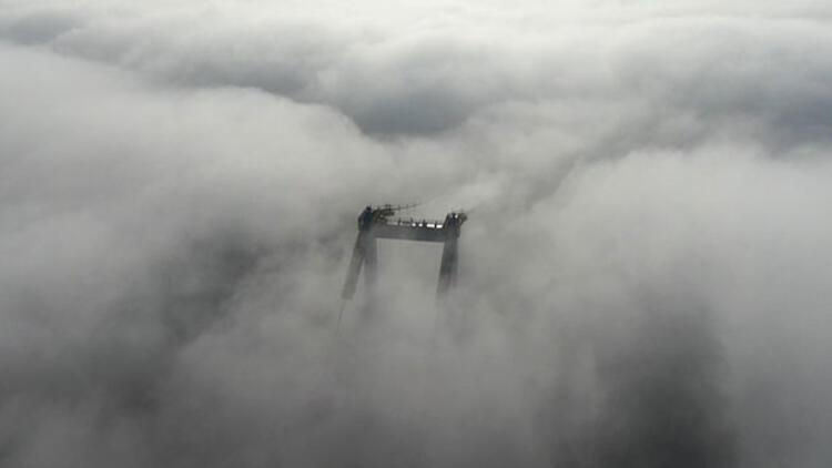 İstanbul Boğazı sis nedeniyle transit gemi geçişlerine kapatıldı