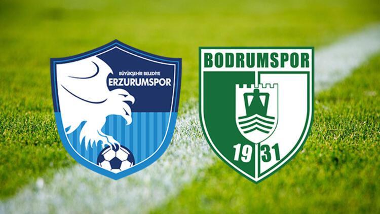 BB Erzurumspor Bodrum Bld maçı saat kaçta ve hangi kanalda?