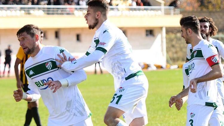 Ziraat Türkiye Kupası | Bayburt Özel İdare Spor: 1 - Bursaspor: 2