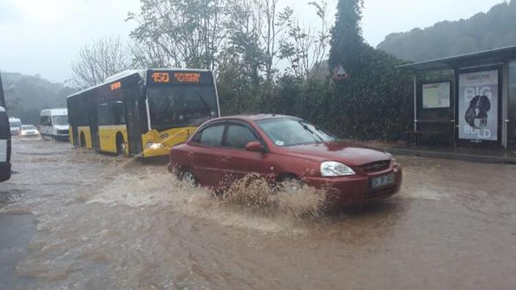 İBB'den sağanak yağış açıklaması