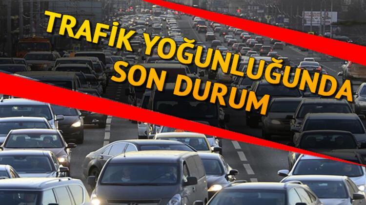 Trafik ne zaman düzelecek? İşte İstanbul yol durumu