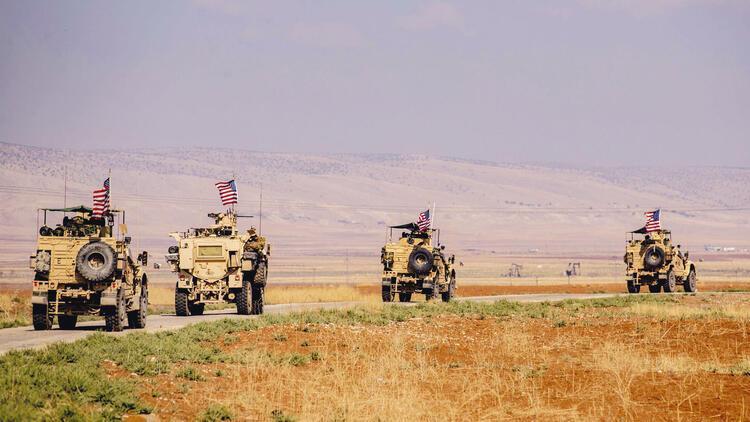 Petrol devriyesi: ABD zırhlıları Suriye'de