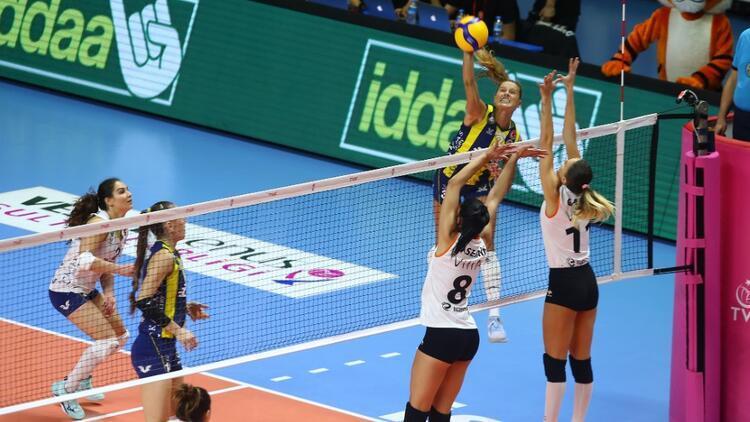 Eczacıbaşı VitrA: 3 - Fenerbahçe Opet: 2