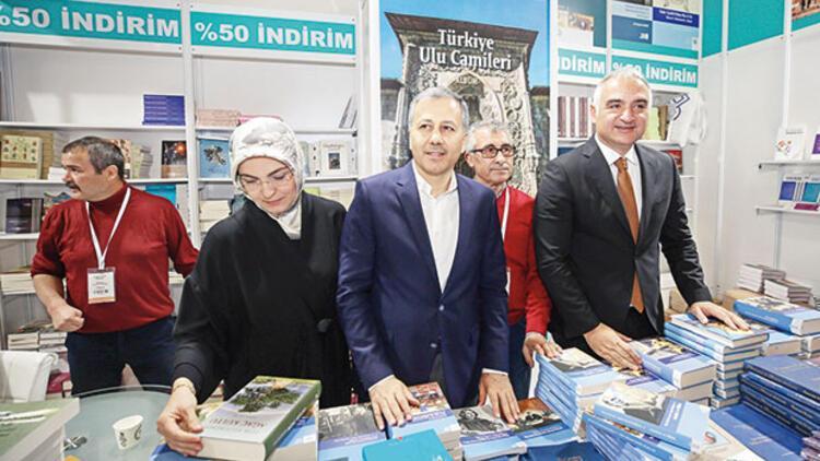38. Uluslararası İstanbul Kitap Fuarı... Hedef 1 milyon ziyaretçi