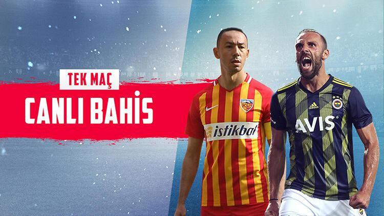 Fenerbahçe, Kayseri deplasmanında! iddaa'da yüksek oranlı tercih...
