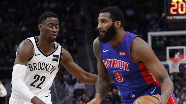 NBA'de gecenin sonuçları | Drummond'dan 25 sayı, 20 ribaunt...