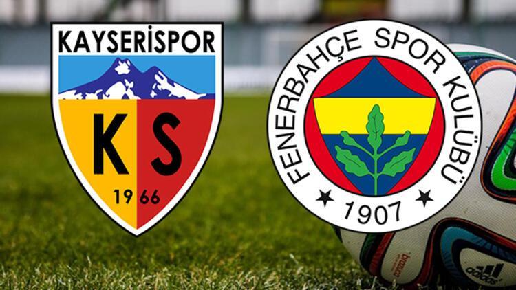 Kayserispor Fenerbahçe Süper Lig maçı saat kaçta hangi kanalda?