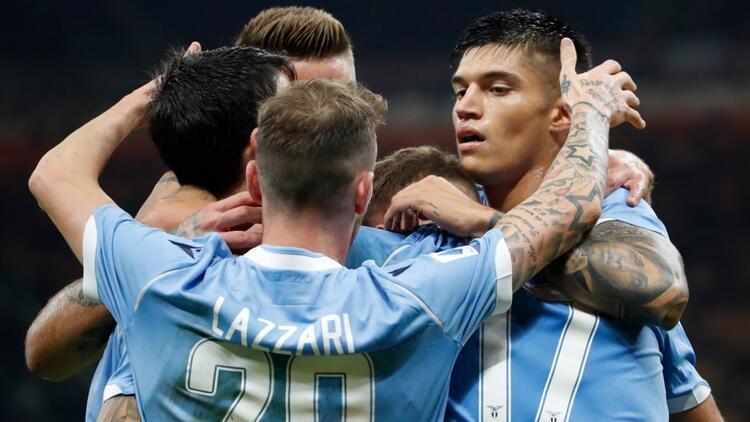 Lazio 30 yıl sonra Milano'dan zaferle döndü!