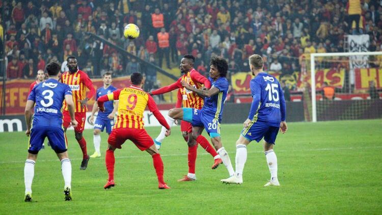 Kayserispor Fenerbahçe'yi güldürmüyor
