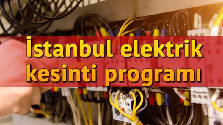 4 Kasım elektrik kesintileri   İstanbul, Avrupa Yakası ve Anadolu Yakası elektrik kesintileri