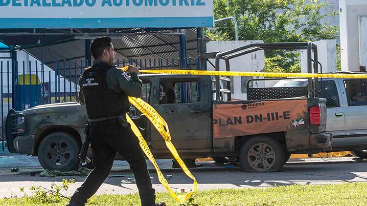 Meksika'da yaklaşık 9 ton uyuşturucu madde bulundu