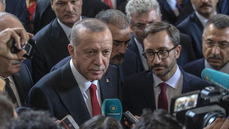Son dakika: Cumhurbaşkanı Erdoğan'dan ABD ziyaretiyle ilgili önemli mesaj