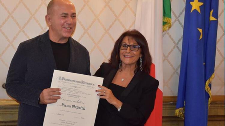 Özpetek İtalyan devlet nişanı aldı
