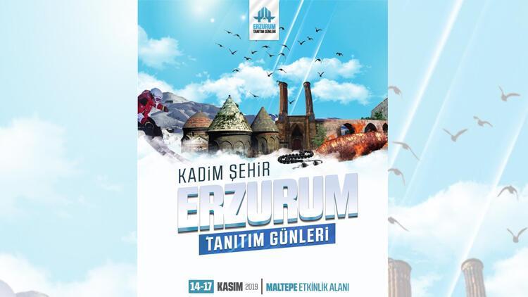 İstanbul'da Erzurum'u tanıtım günleri başlıyor