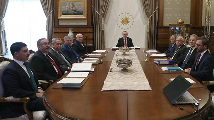 Yüksek İstişare Kurulu, Erdoğan başkanlığında toplandı