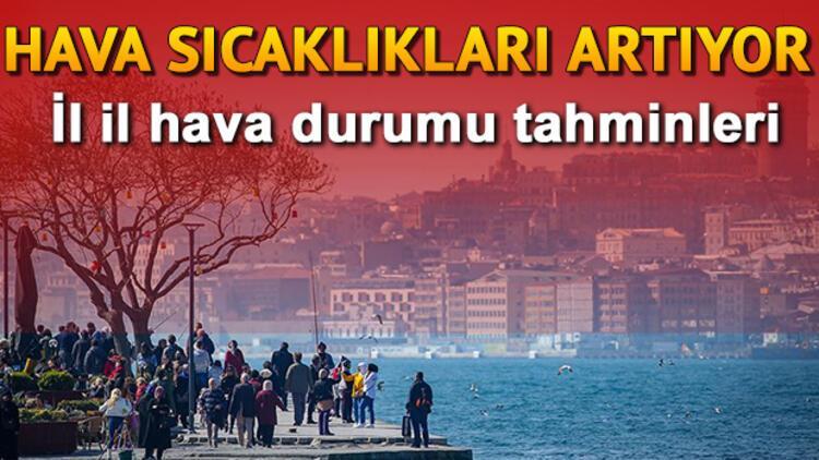 Hava sıcaklıkları yükseliyor! 6 Kasım Çarşamba Türkiye geneli hava durumu tahminleri
