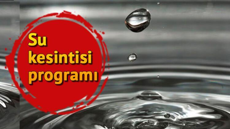 Sular ne zaman gelecek? İSKİ 6 Kasım su kesintisi programı
