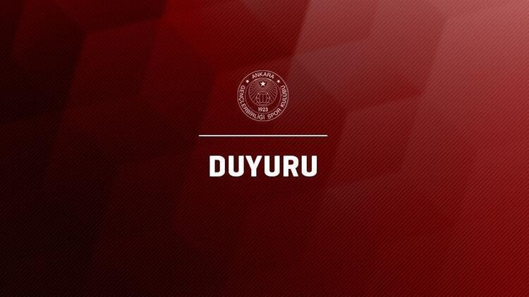 Gençlerbirliği'nde başkan Murat Cavcav'dan taraftara çağrı