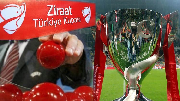 Son Dakika | Ziraat Türkiye Kupası kuraları çekildi! Beşiktaş, Fenerbahçe, Galatasaray ve Trabzonspor'un rakipleri...