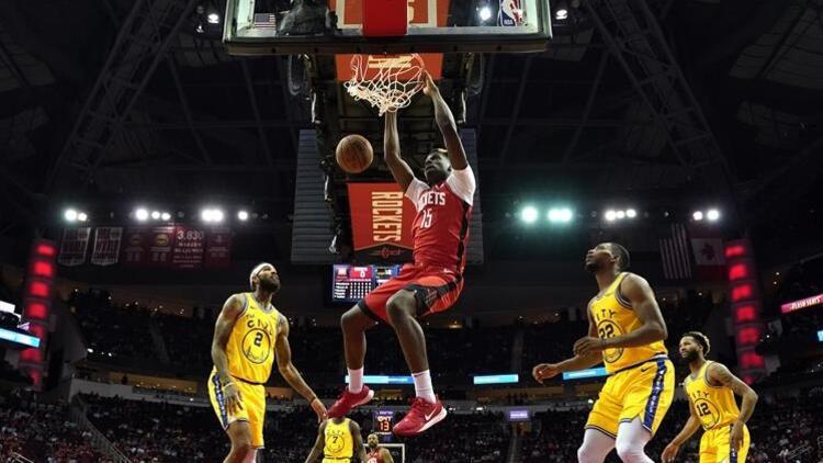 NBAde gecenin sonuçları | Houston Rocketsta 3 isim doudble-double yaptı...