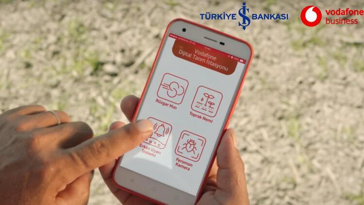 Vodafone ve Türkiye İş Bankası tarımda dijitalleşme için güçlerini birleştirdi