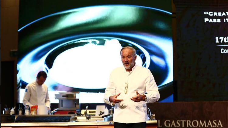 Dünyaca ünlü şefler ilham için Gastromasa'ya geliyor