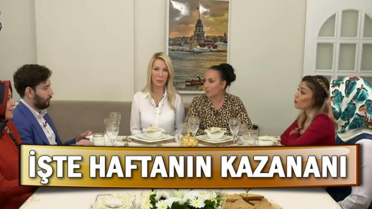 Yemekteyiz birincisi kim oldu? 4 8 Kasım haftası Seda Sayan ile Yemekteyiz kazananı ve puan durumu