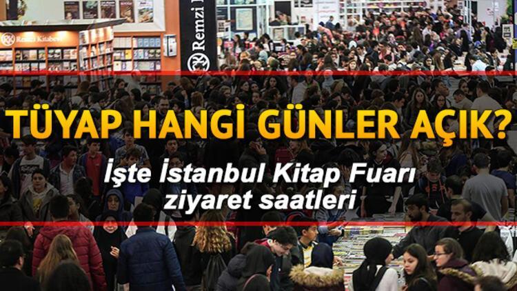 TÜYAP İstanbul Kitap Fuarı'na nasıl gidilir? TÜYAP hangi günler ziyarete açık?