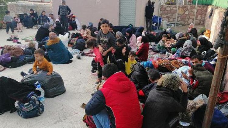 Çanakkale'de 205 kaçak göçmen yakalandı