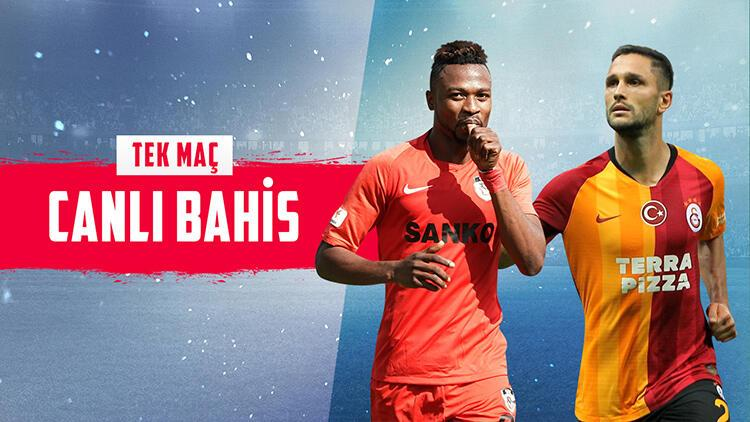 Galatasaray, Gaziantep deplasmanında! Bu maça bahis yapanların yüzde 49'u...
