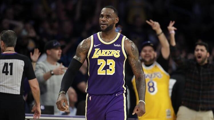 NBA'de gecenin sonuçları | Lakers'tan üst üste 7. galibiyet...
