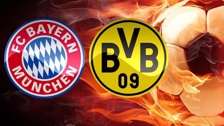 Bayern Münih Dortmund maçı ne zaman, saat kaçta hangi kanalda?