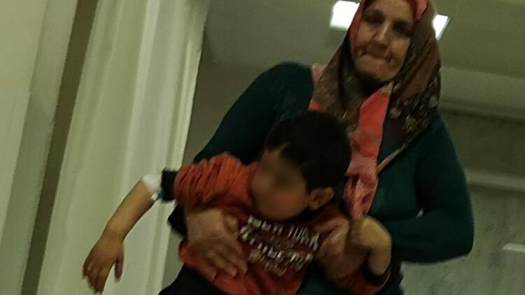 4 yaşındaki Deniz, tineri su zannedip içti