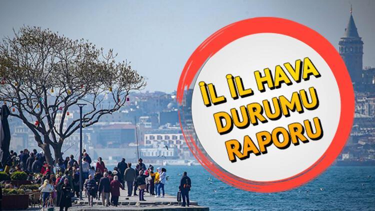 Pazar günü hava nasıl olacak? 10 Kasım Türkiye geneli il il hava durumu tahminleri