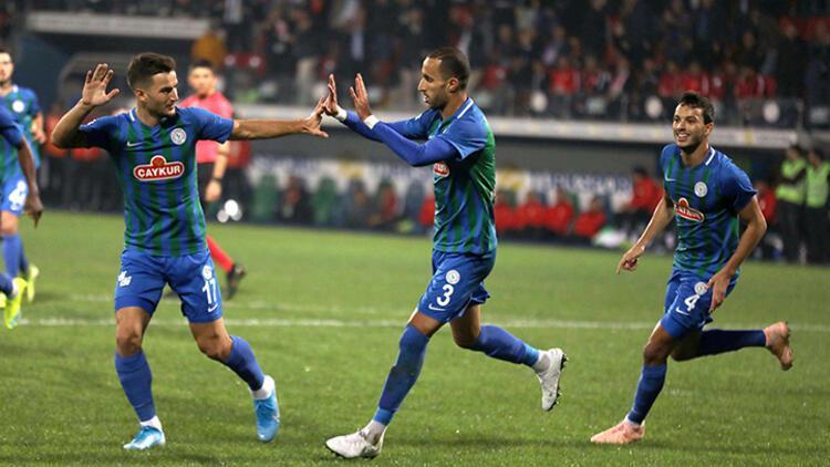 Çaykur Rizespor, tek golle güldü!