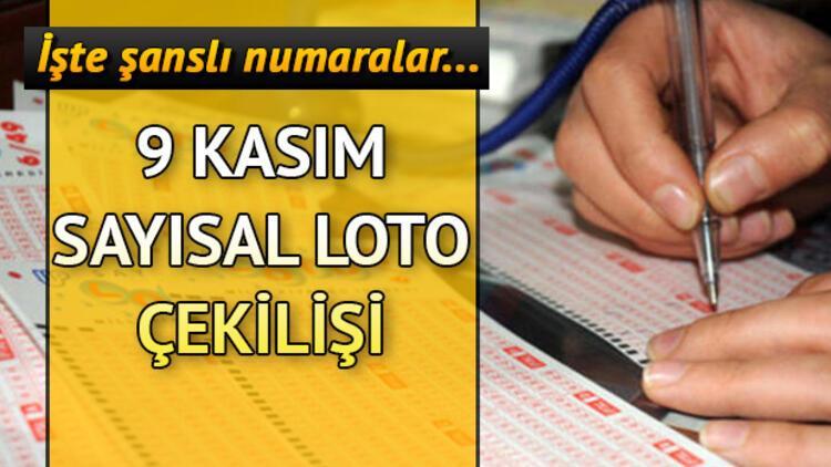 Sayısal Loto devretti, ikramiye 3 milyon TL'yi buldu! 9 Kasım MPİ Sayısal Loto çekiliş sonuçları sorgulama