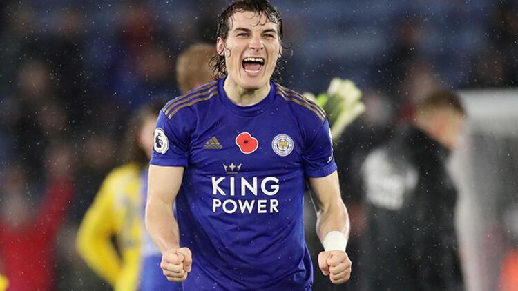 Çağlar Söyüncü oynadı, Leicester yine kazandı!