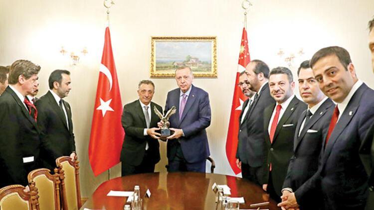 Erdoğan'a Beşiktaş forması