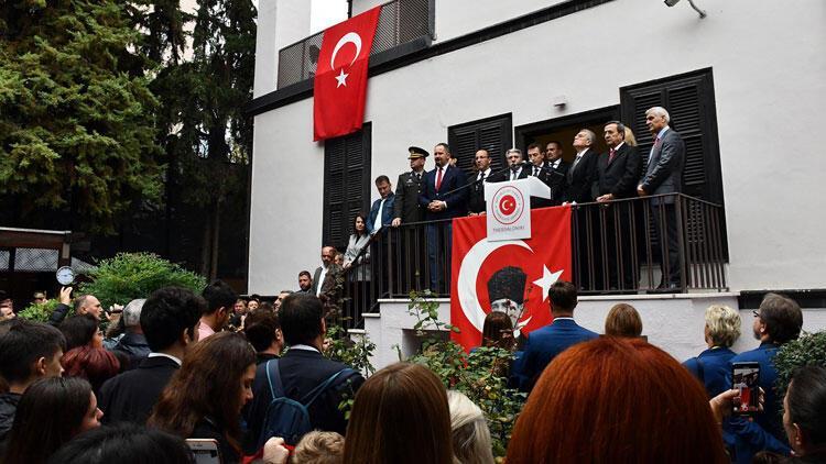 Atatürk, Selanik'te doğduğu evde duygu dolu törenle anıldı