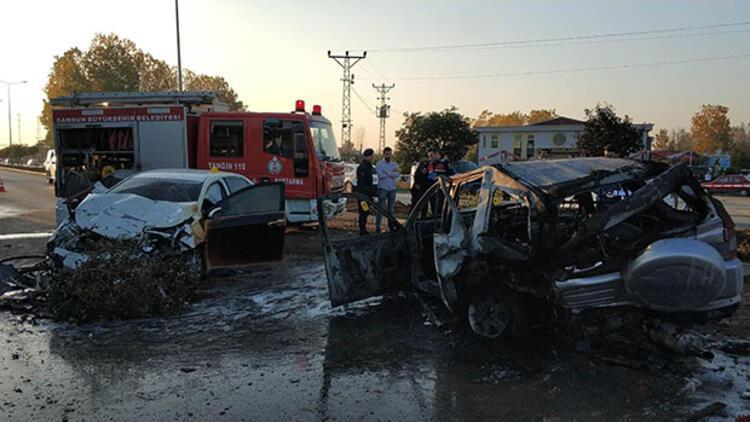 Feci kaza... Savcı ve eşi yaralı küçük kızı yaşamını yitirdi