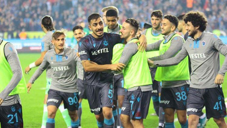 Trabzonspor'da 16 maç sonra bir ilk!